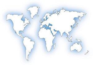 verdenskort Bolig i Udlandet